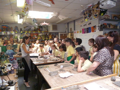Year 5 T6 Austen - Ceramics Workshop at Valley Park
