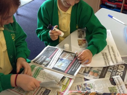 Year 5 T6 Fleming - Features of a Newspaper