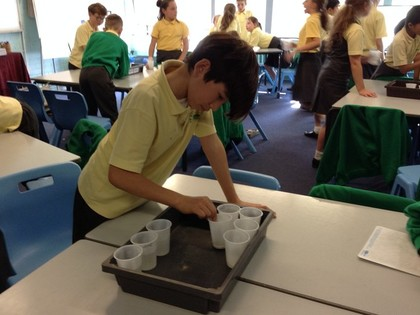 Year 5 T6 Fleming - Science Dissolving Experiment