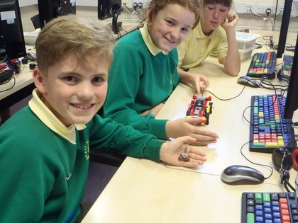 Year 6 T6 Computing Lego WeDo