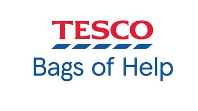 £2,000 from Tesco Bags of Help!