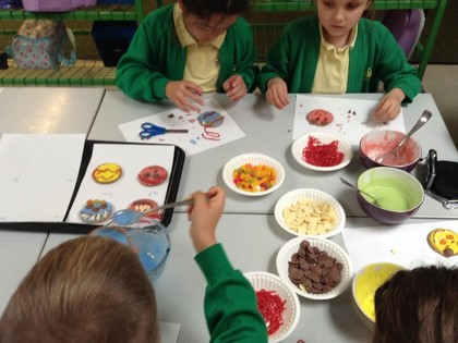 Year 3 T1 Party Planners for Snow White Party