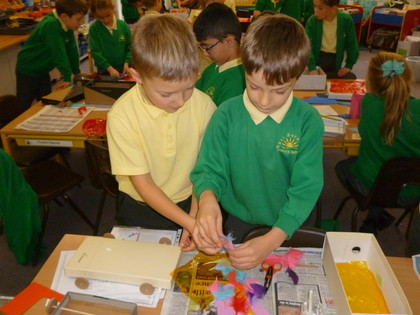 Year 3 T2 Design and Make Fairy Tale Character Vehicle