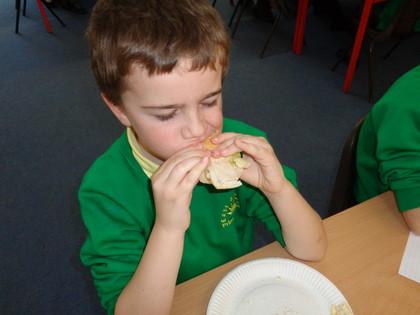 Year 3 T3 Sandwich Making