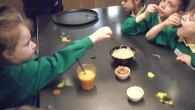 Fantastic visit to Wagamamas for Holmes Class