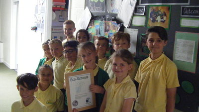 Eco Schools Silver Award for East Borough