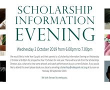 Scholarship ad