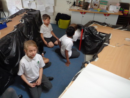 Year 3 T1 Attenborough - Howard Carter tunnel activity