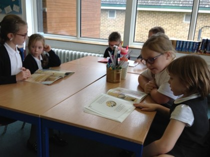 Year 4 T1 Darwin - Reading with Foundation