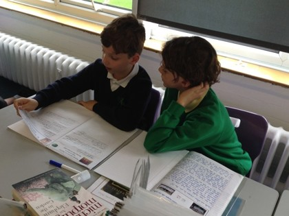 Year 6 T2 Pepys - Sharing Writing with Churchill Class