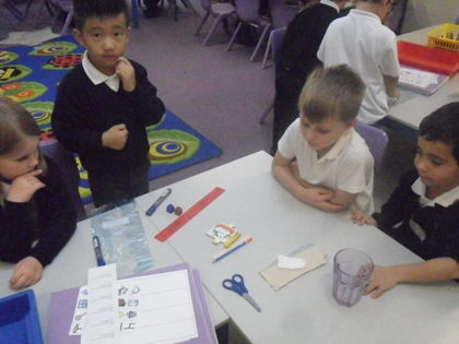 Year 1 T2 Investigating Materials