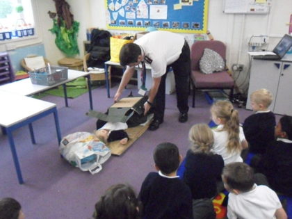 Year 1 T2 Salvation Army Visit