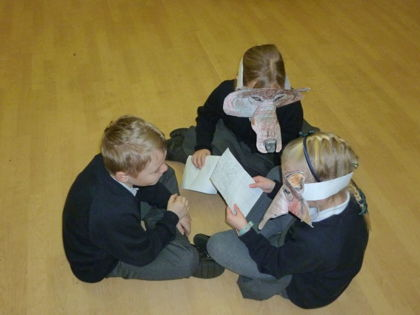 Year 3 T3 Pankhurst - Retelling the Wolves in the Walls story