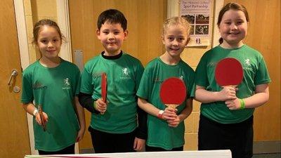 Under 11's Schools Table Tennis Tournament