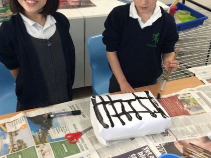 Year 2 T3 Peake - Great Fire of London houses