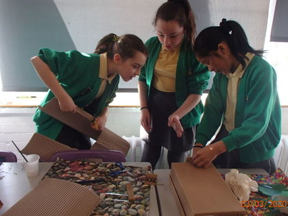Year 6 T4 Pepys - DT Anderson Shelter Creations