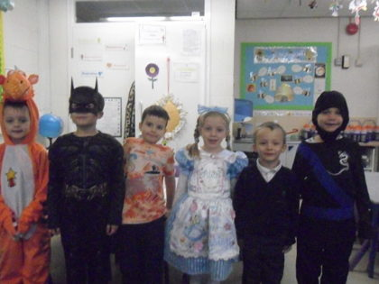 Year 1 T4 Holmes - World Book Day