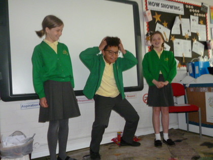 Year 5 T5 Austen - Oral Storytelling of Theseus and the Minotaur