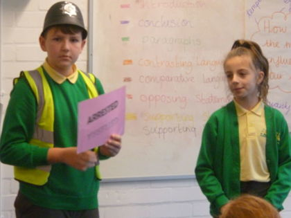 Year 6 T2 Fleming - Magistrate experience