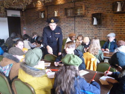 Year 6 T3 Fleming - History WW2 Trip to Kent Life