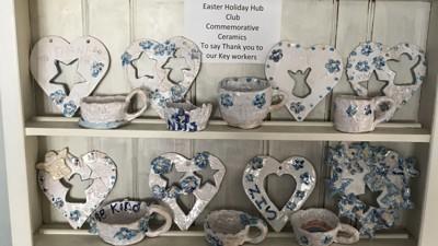 Commemorative ceramics complete!
